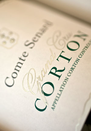 Corton Grand Cru White