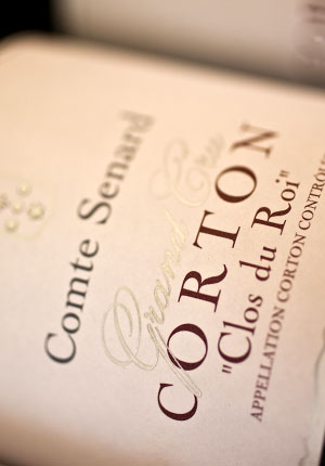 Corton «Clos du Roi» Grand Cru