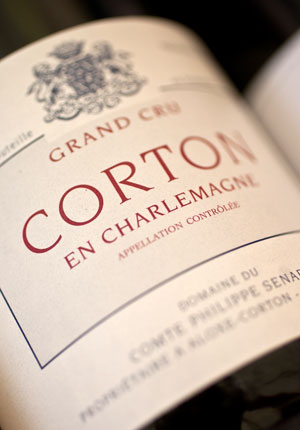 Corton En Charlemagne Grand Cru Red